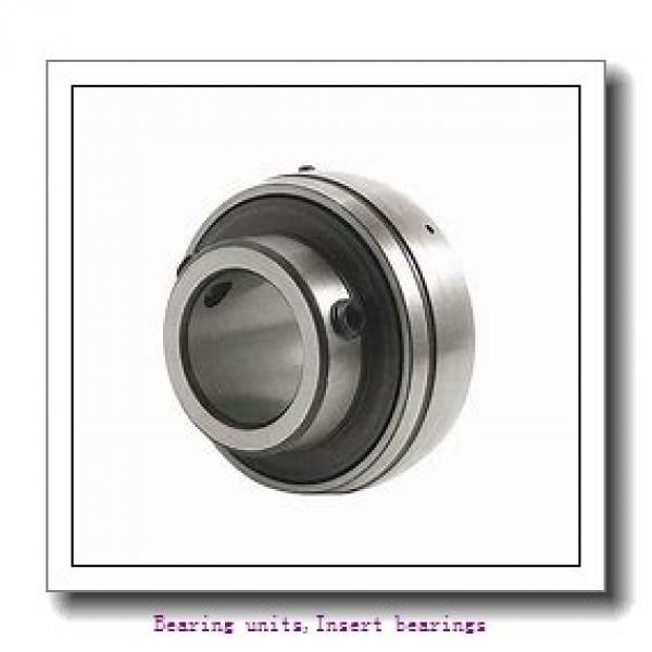 17 mm x 47 mm x 34 mm  SNR EX203G2T04 Bearing units,Insert bearings #1 image