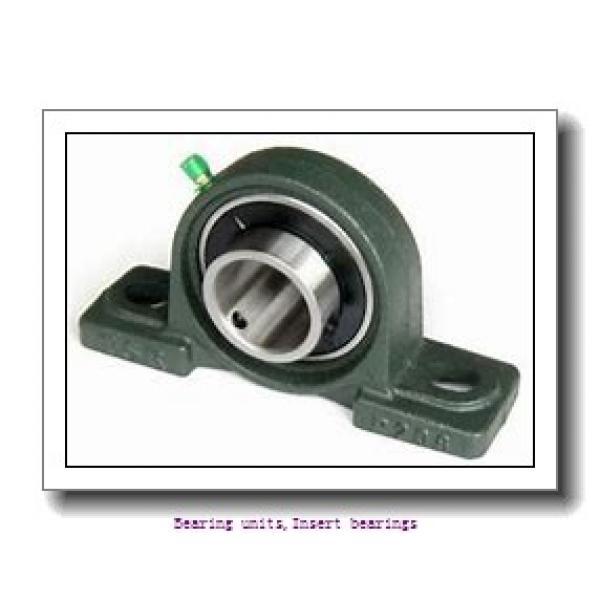 38.1 mm x 80 mm x 42.8 mm  SNR EX208-24G2L3 Bearing units,Insert bearings #1 image