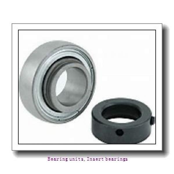 12 mm x 47 mm x 34 mm  SNR EX201G2L3 Bearing units,Insert bearings #2 image