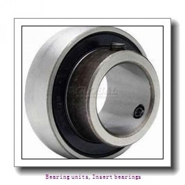 28.58 mm x 62 mm x 23.8 mm  SNR ES206-18G2T04 Bearing units,Insert bearings #1 image