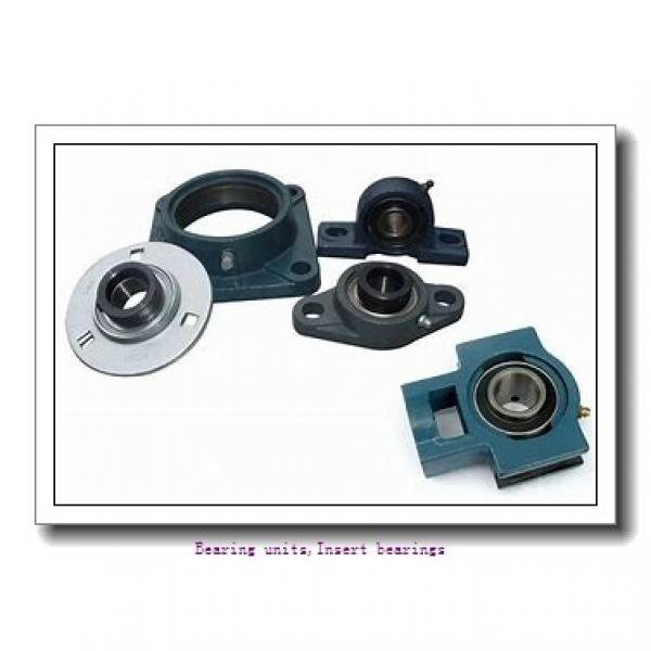 12 mm x 47 mm x 34 mm  SNR EX201G2L3 Bearing units,Insert bearings #1 image