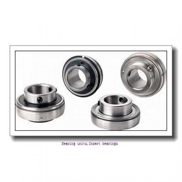 28.58 mm x 62 mm x 36.4 mm  SNR EX206-18G2 Bearing units,Insert bearings #1 image