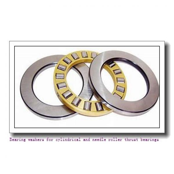 35 mm x 2.047 Inch | 52 Millimeter x 3.5 mm  skf WS 81107 Bearing washers for cylindrical and needle roller thrust bearings #2 image