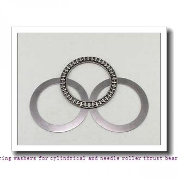 17 mm x 30 mm x 1 mm  skf AS 1730 Bearing washers for cylindrical and needle roller thrust bearings #1 image