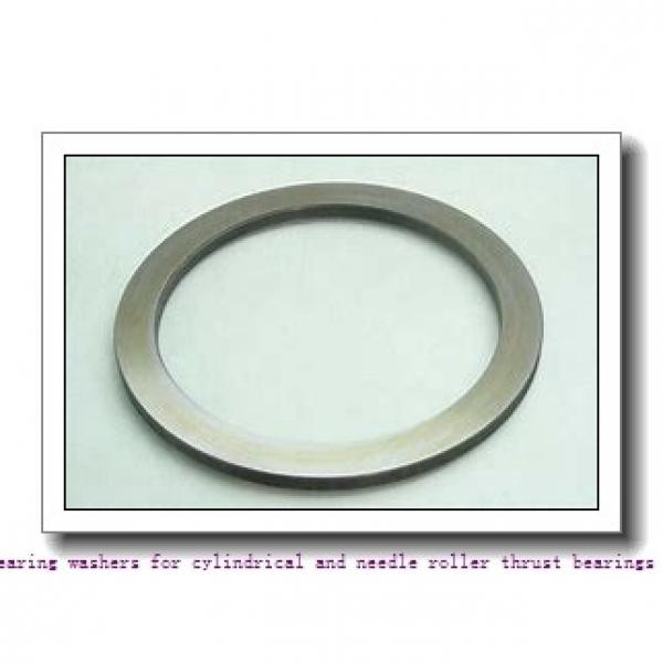 140 mm x 180 mm x 1 mm  skf AS 140180 Bearing washers for cylindrical and needle roller thrust bearings #1 image