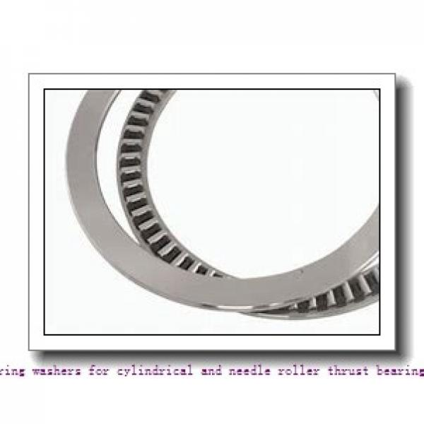 skf GS 81216 Bearing washers for cylindrical and needle roller thrust bearings #1 image