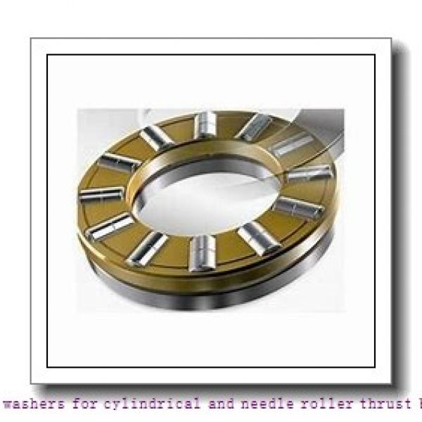 skf WS 89416 Bearing washers for cylindrical and needle roller thrust bearings #2 image