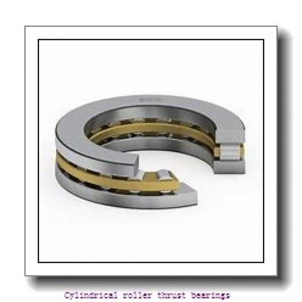480 mm x 650 mm x 39.5 mm  skf 81296 M Cylindrical roller thrust bearings #1 image
