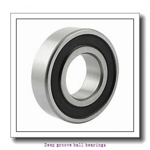 80 mm x 170 mm x 39 mm  skf 6316 Deep groove ball bearings #2 image