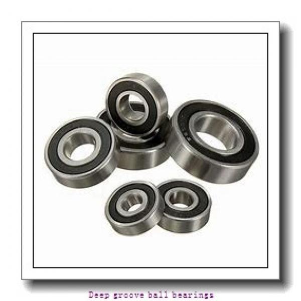 6,35 mm x 9,525 mm x 3,175 mm  skf D/W R168-2Z Deep groove ball bearings #2 image