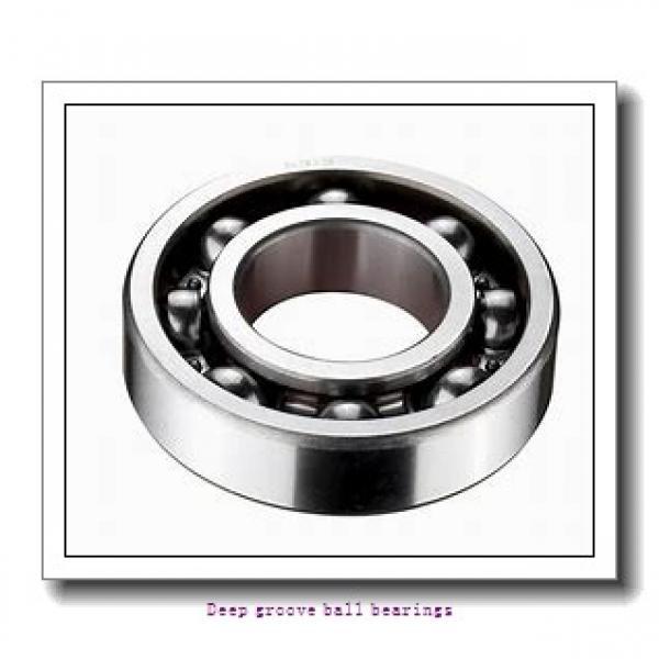 80 mm x 170 mm x 39 mm  skf 6316 Deep groove ball bearings #1 image
