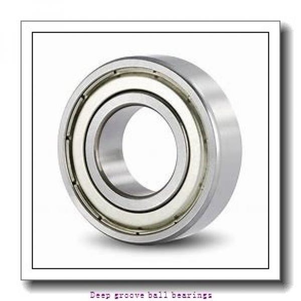 30 mm x 72 mm x 19 mm  skf W 6306-2Z Deep groove ball bearings #2 image