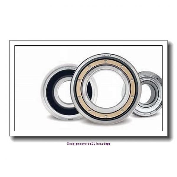 35 mm x 72 mm x 17 mm  skf 6207-2RS1 Deep groove ball bearings #1 image