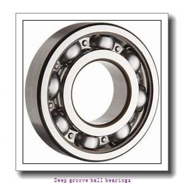 60 mm x 110 mm x 22 mm  skf 212 Deep groove ball bearings #1 image