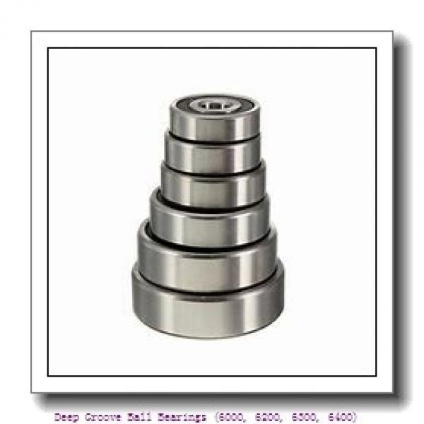 timken 6306-N Deep Groove Ball Bearings (6000, 6200, 6300, 6400) #1 image