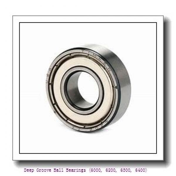 timken 6206-N Deep Groove Ball Bearings (6000, 6200, 6300, 6400) #1 image
