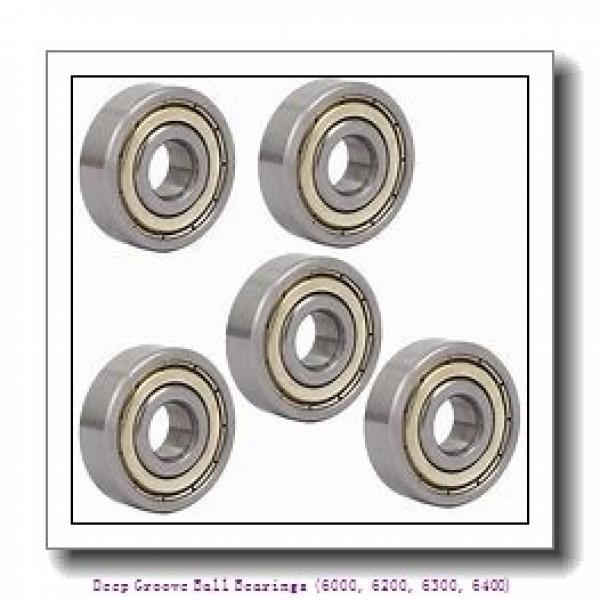 timken 6306-2RS Deep Groove Ball Bearings (6000, 6200, 6300, 6400) #1 image