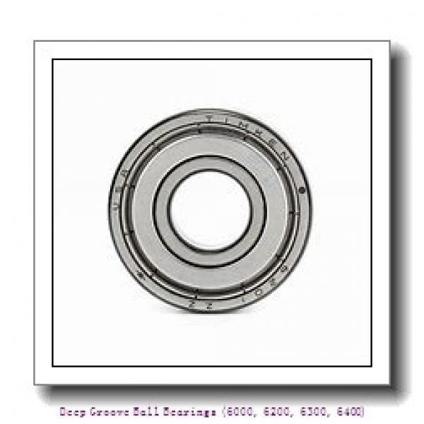 timken 6020-2RZ Deep Groove Ball Bearings (6000, 6200, 6300, 6400) #2 image