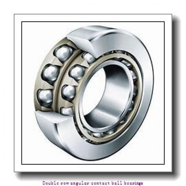 25 mm x 62 mm x 25.4 mm  SNR 3305AC3 Double row angular contact ball bearings #2 image
