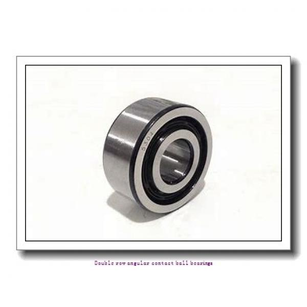60,000 mm x 110,000 mm x 36,500 mm  SNR 3212A Double row angular contact ball bearings #1 image