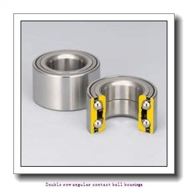 20 mm x 47 mm x 20.6 mm  SNR 3204AC3 Double row angular contact ball bearings #2 image