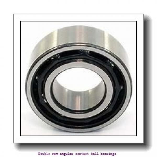 45,000 mm x 85,000 mm x 30,200 mm  SNR 5209NRZZG15 Double row angular contact ball bearings #2 image