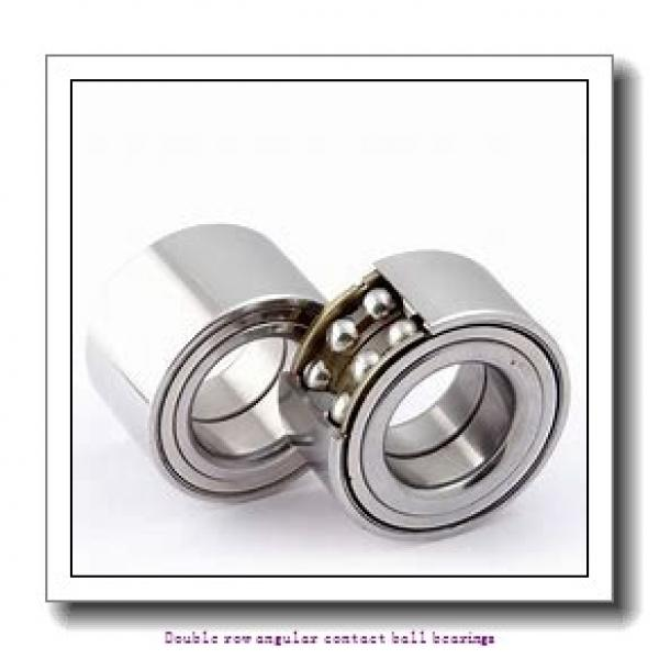 25 mm x 52 mm x 20.6 mm  SNR 3205A Double row angular contact ball bearings #1 image