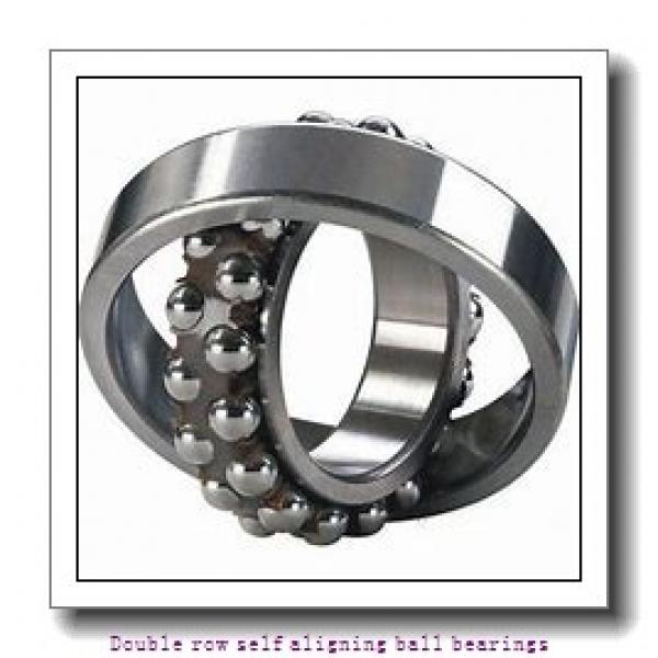 25 mm x 62 mm x 17 mm  NTN 1305SC3 Double row self aligning ball bearings #2 image
