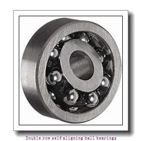 75 mm x 130 mm x 25 mm  NTN 1215SK Double row self aligning ball bearings #1 image