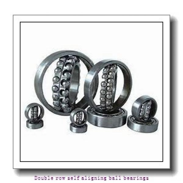 25 mm x 62 mm x 17 mm  NTN 1305SC3 Double row self aligning ball bearings #1 image