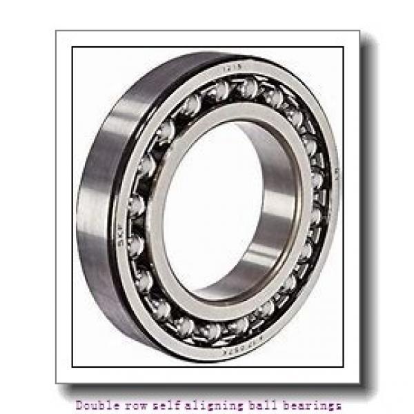 75 mm x 130 mm x 25 mm  NTN 1215SK Double row self aligning ball bearings #2 image