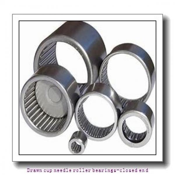 NTN BK1312 Drawn cup needle roller bearings-closed end #1 image